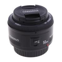 Yongnuo YN50mm 50mm F/1.8 1:1.8 AF/MF Standard Prime Lens for Canon EOS Rebel Digital Camera