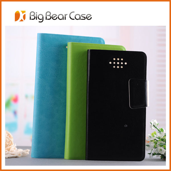 PU leather card holder star n9500 galaxy s4 android 4.2 smart phone case
