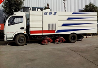 China Manufacture Dongfeng 4*2 DFL5120B Road Cleaning Sweeper Truck for sale