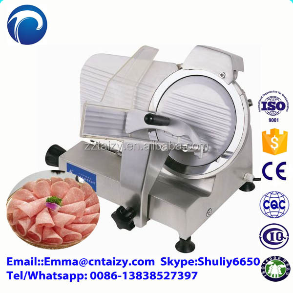 frozen Mutton Full Automatic Meat Slicer 10 Inch 250mm Blade Electric Semi-automatic Frozen Meat Cutting Machine Slicer.