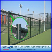strong and beautiful chain link fence mesh fabric by dsy