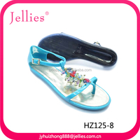 2014 Fashion Beautiful Model Silicone Sandals Women 2016 Shoes