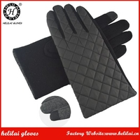 Korean Fashion Men's Touchscreen Winter Unlined Polyester and Spandex Gloves