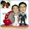 CUSTOMIZED & PERSONALIZED UNUSUALLY CREATION 3D CARICATURE FIGURINES