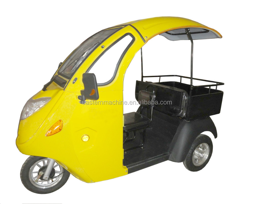 Electric Tricycle For Passenger and Freight