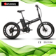 Sataway high quality 20 inches e foldable fat tire folding electric bicycle bike/e bike