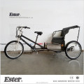 Pedal Passenger Pedicab with LED Lights