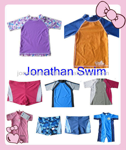 kids' UPF 50+short sleeve rash vest(new arrival)