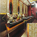 sichuan decorative PVC 3D Board / 3D wall panel from China