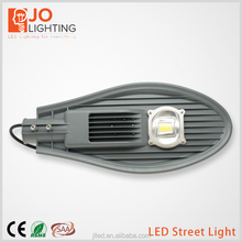 high color temperature 60W COB LED street light with Bridge lens led street lamp housing