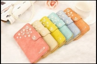 Lady and Retro Wind Colorful Pearl Matte Mobile Phone Case For Samsung S4/S5/S6/Note2/3/4