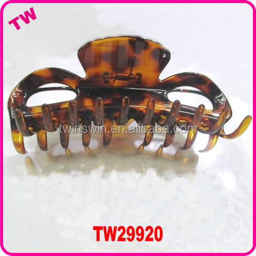 fashion women hair ponytail clip claw plastic large hair claws