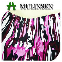 Mulinsen Textile New Design FDY Knitting Japanese Pattern Print Fabric