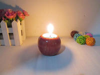 New Style Christmas red apple shaped Candles, birthday Decoration