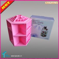 New Products Manufacturing Companies Wholesale Makeup Acrylic Cosmetic Lipstick Stand Holder