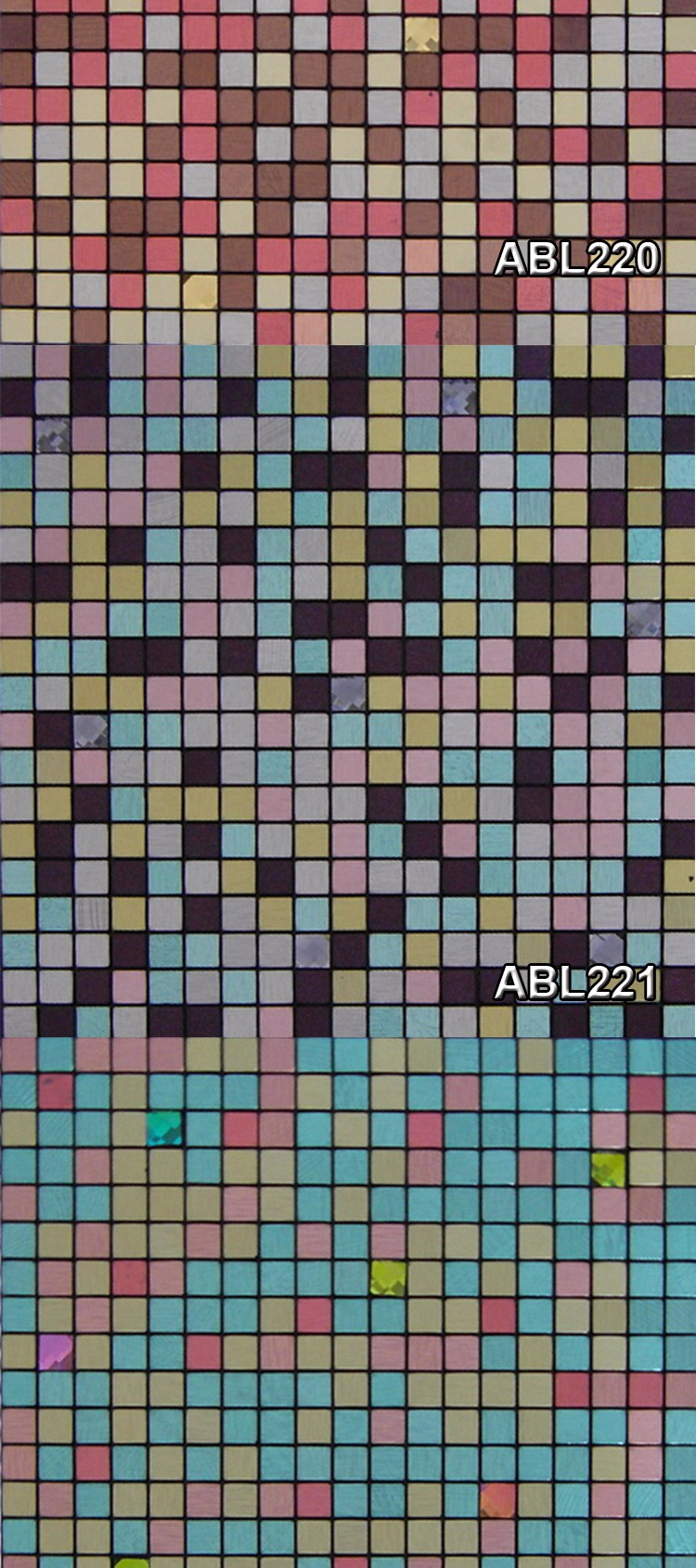 Spots Metal Mosaic Tile Modern Kitchen Home Decoration Bathroom Design Swimming Pool Mosaics Tile China Supplier ABL02