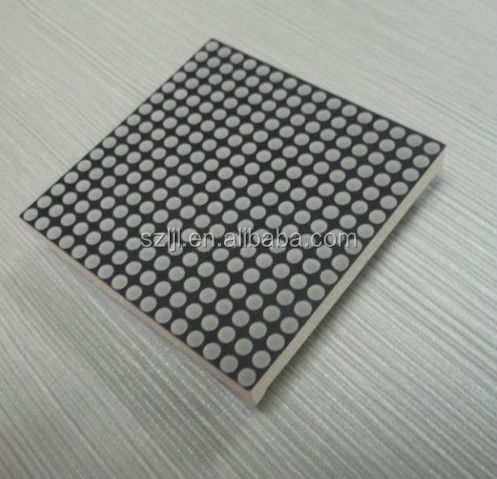 High Definition 1.5inch Scrolling Led Dot Matrix 16*16 wth Emitting Green Color