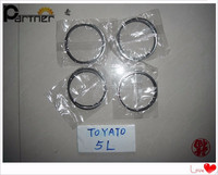 Auto spare parts 1301154130 0.5 piston rings for toyota 5L