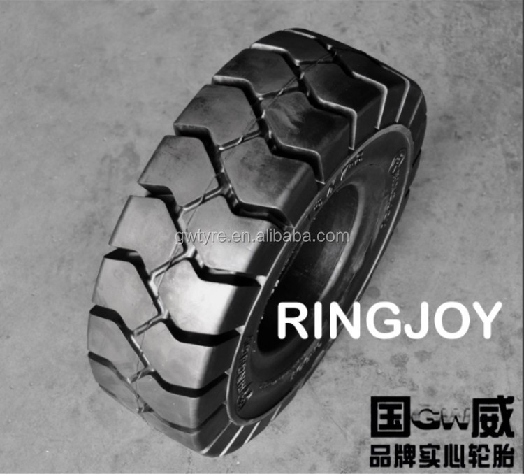 Solid Tyre 27x10-12 Industrial Solid Rubber Tire