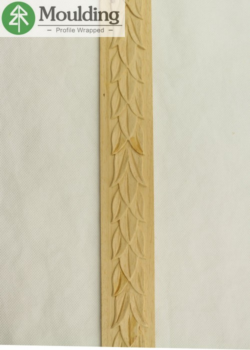 furniture wall decoration wood carved moulding