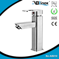 High quality 316 304 stainless steel bathroom basin faucet, cold and hot water washbasin faucet with CE and CUPC certificate