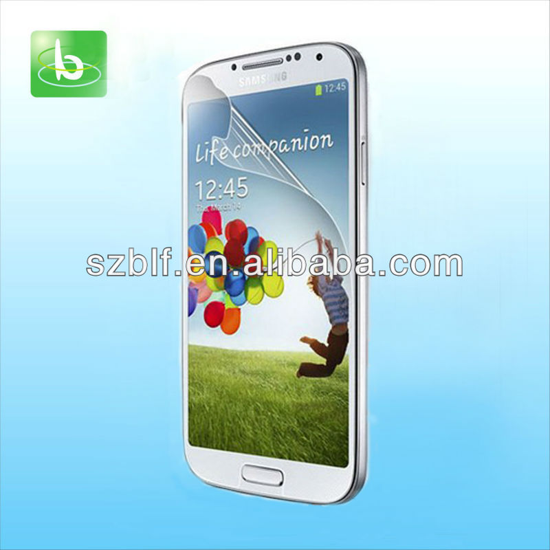 Hot Japanese PET for samsung galaxy s4 I9500 screen protection film