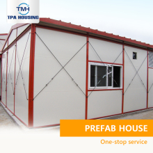 Serbia Small Kit Prefabricated Steel Building Luxury Prefab Houses Building Guangdong Low Cost 50M2 Prefabricated House