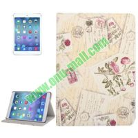 Fashionable Pattern Leather Case for iPad Air with Stand