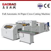 Computerized And Paper Cutting Machine Type A4 Copy Paper Wrapping Machine