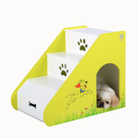 american class MDF wood dog bed with stairs eco-friendly