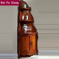 Solid rubber wood cabinet for kitchen furniture design dining room set Z-221