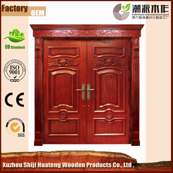 luxury solid wood door for villa