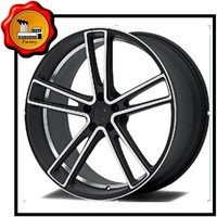 "14 "" 4/5*100 ET 35 bolt pattern aluminum alloy wheel rim with white and black color"