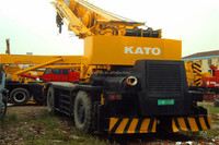 used kato KR500 rough terrain crane 50ton from Japan, used KR500 crane