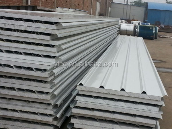 Eps Foam Roof Panels : Easy installation eps sandwich panel details for best