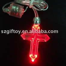 led flash necklace