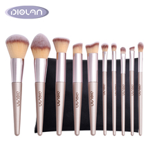 Newest Private Label high quality cosmetic <strong>brushes</strong> 10pcs best makeup <strong>brush</strong> set