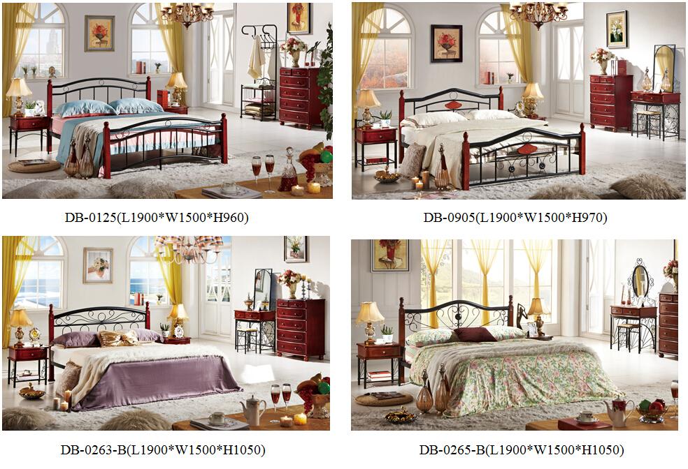 2015 Latest Design Bed Room Furniture Bedroom Furniture Set Db ...