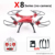 X8C X8G X8W X8HG X8 FPV RC Drones With 4K hd camera 1080p Ultra HD WiFi 2.4G 4CH RC Quadcopter Helicopter Professional Dron