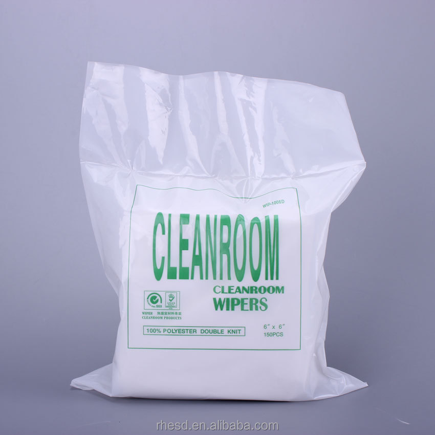 Factory Direct Sales Polyester Absorbent Cleanroom Wiping Cloth
