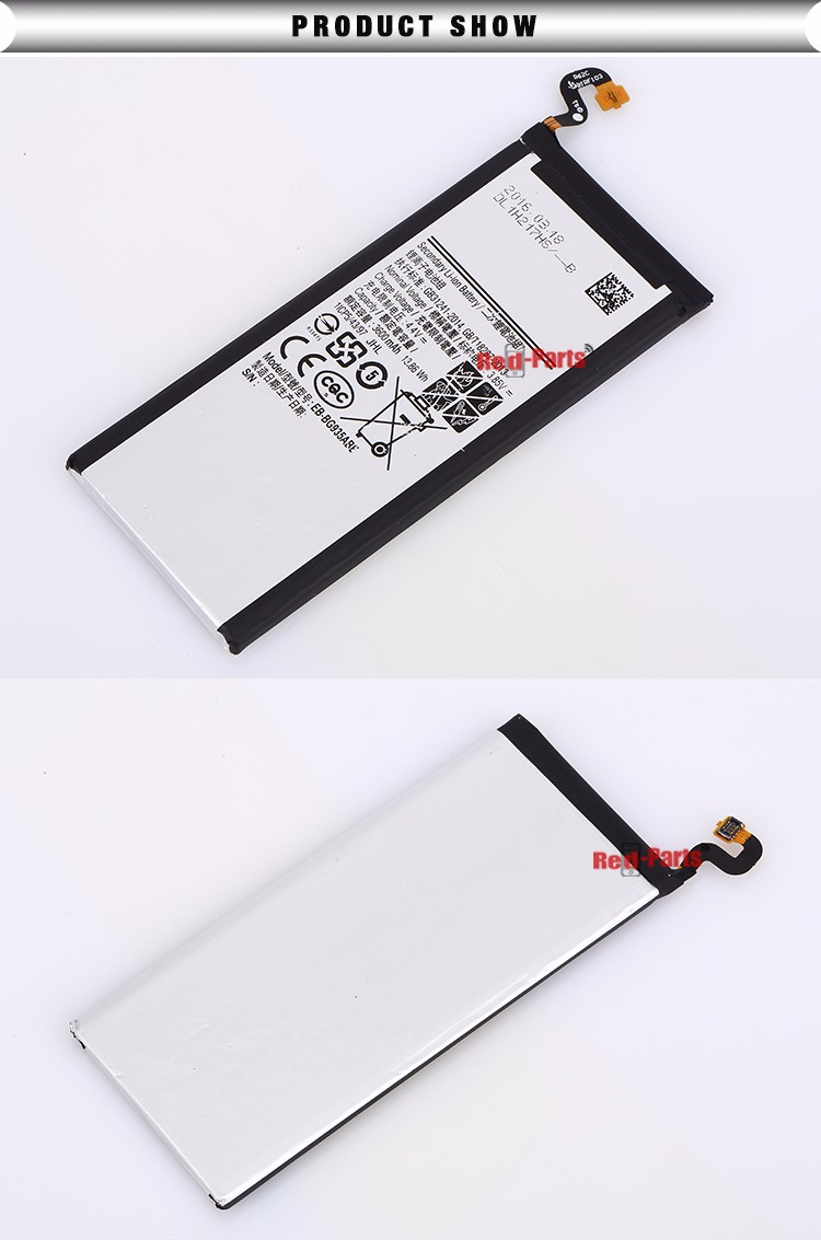 Different Models of cell phone Li-ion 2900mAh battery for samsung s7 edge