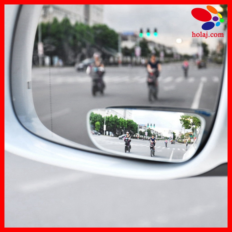 2Pcs Car Vehicle HD Rear Wide Angle View Adjustable Auxiliary Blind Spot Mirrors