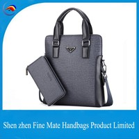 Alibaba China Supplier sales New arrival fashion men Purses handbags pvc leather bag