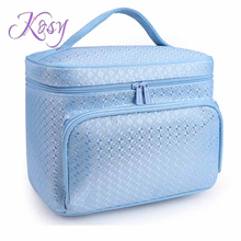 Women's Travel Cosmetic Bags Small Makeup Pouch Cosmetic and Toiletries Organizer Bag cases