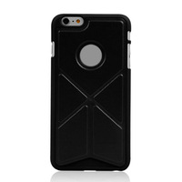 Transformers flip stand case for iphone 6 plus,flip leather case for iphone 6 plus