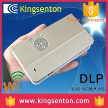 High tech full hd 3d led projector china mobile phone android 4.2 led mini pocket projector for iphone 5/5s/6/6plus