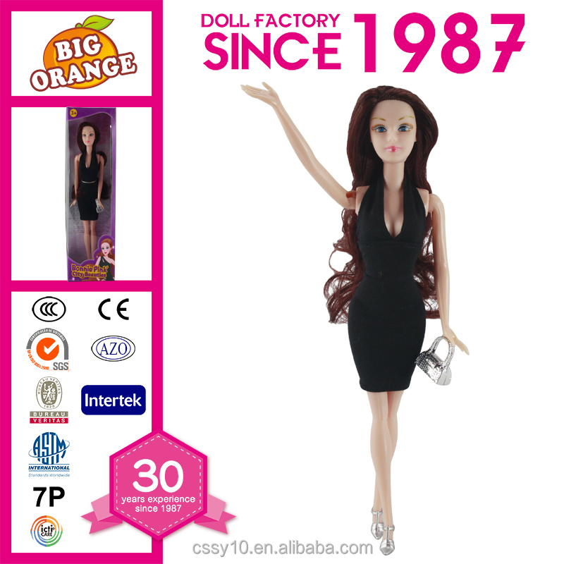 11.5 Inch Popular Barbie Doll Lifelike Fulla Doll