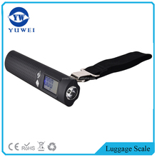 Power Bank Weigh Electronic Portable Luggage Scale With 2600mAh Portable Charger & LED Flashlight