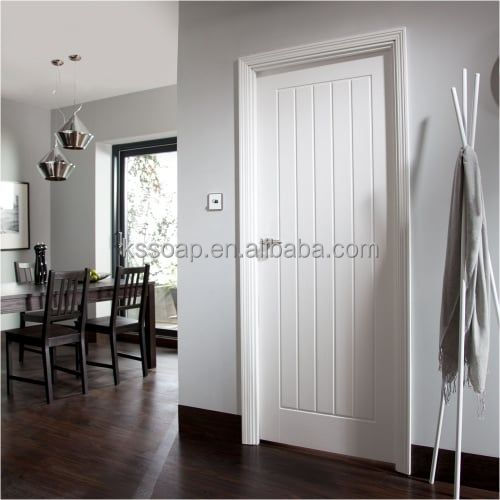 Classic Style Interior Engineered Wood Door