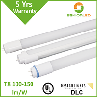 UL DLC list LED T8 Tube light with ballast compatible for us market